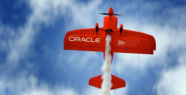 oracle oow plane 1
