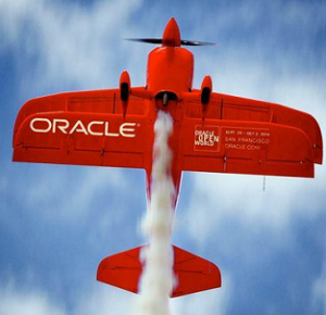 oracle oow plane square