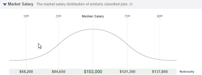 big data market salary
