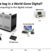 What's in the bag in a World Gone Digital?