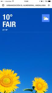 Weather Channel screenshot
