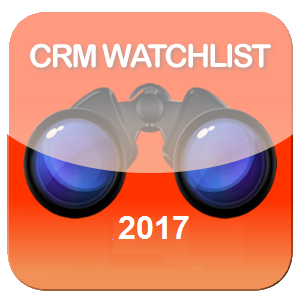 And the winners of the 2017 CRM Watchlist are    - Enterprise Irregulars