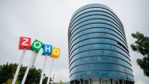 Zoho's strikingly different global path