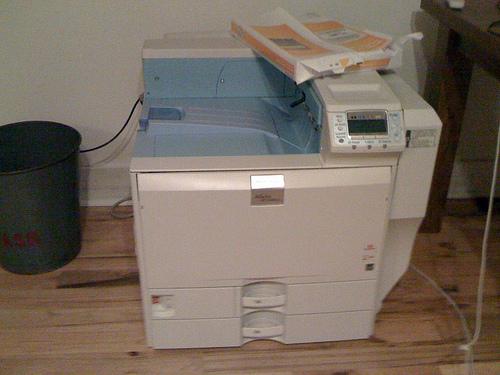 Monster Ricoh Printer