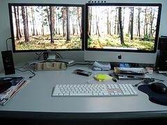 24-inch x 2 Workspace (iMac)